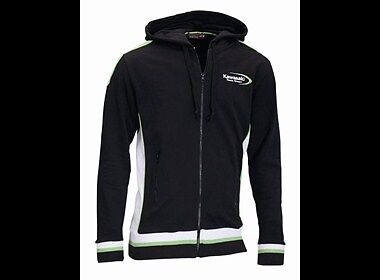 Kawasaki Hoody Team Green Gr.M Original Bekleidung Kapuzen Sweatshirt ZXR KXF KX