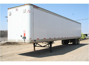 Storage Trailer and Parking Included 48 Ft Dry Van