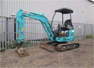 Bobcat & mini excavator for hire $90 per hour flat rate. Keperra Brisbane North West Preview
