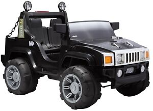 Brand New Huge 12V Two Seater Child Ride-On w Stick Shift Lights