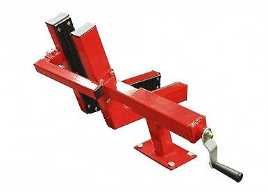 NEW Titan Motorcycle Lift Lifting Table Wheel Vise Vice Chock w/ Rubber Lining for sale  Little Suamico