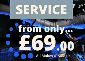 Car Servicing From £69.00 All Makes And Models
