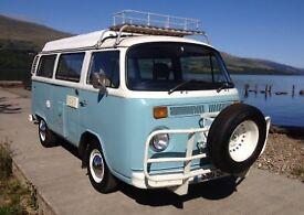 1975 VW T2 Bay Camper - Aussie Import