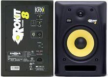 Near New KRK rokit 8 g2 studio monitor speakers Mount Pleasant Melville Area Preview