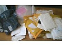 ** WANTED ** USED OR UNUSED MAIL/POLY BAGS , Large amounts .. Any size ..