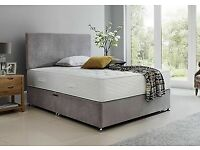 5.0 KING SIZE BED WITH MEMORY FOAM MATTRESS***FREE DELIVERY**CASH ON DELIVERY**