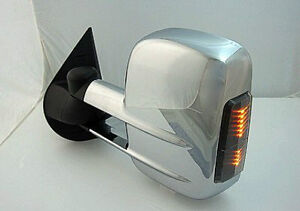 Chrome Towing Mirror Pair Silverado/Sierra/Tahoe/Suburban/Yukon London Ontario image 2