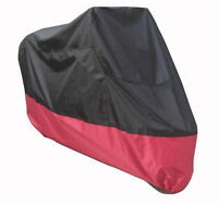 Brand New XXL Black/Red Breathable Motorcycle Dust Covers