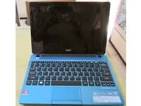 """Acer Aspire One 725-0802 11.6"""" Netbook AMD Dual Core 320GB HDD"""