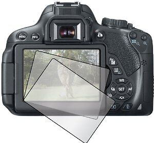 Canon 650D Pro Optical Glass Hard LCD Screen Protector Cover