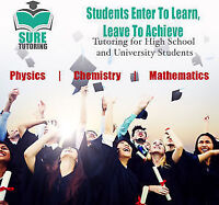 1-on-1 Tutoring for Math, Chem and Physics