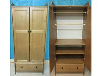 IKEA Leksvik Children's/Small Wardrobe