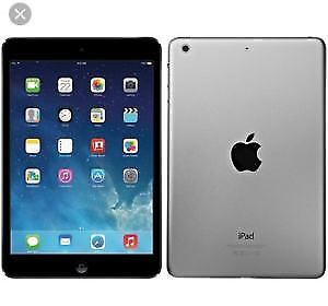 ipad air  32 g model with case and charger