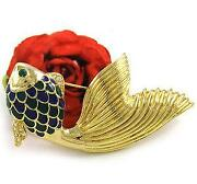Enamel Fish Pin