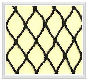 Hockey Rink Netting - 25FT x 9 FT - High-Quality