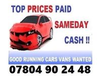 ☎️CASH TODAY CAR VAN WE PAY MORE BUY YOUR SELL MY SCRAP H