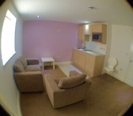 A newly developed 1 bedroom fully furnished flat,bills fully incl of rent and min term is 10 months