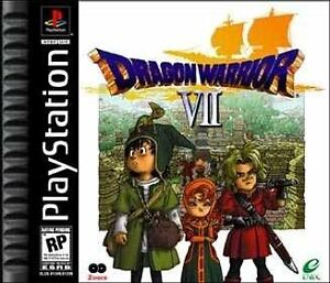 Dragon Warrior VII for Playstation - PRICED TO MOVE Cambridge Kitchener Area image 1
