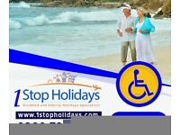 Abroad Holidays for Elderly Disabled and People with Special Needs