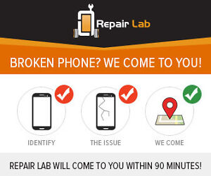 Broken phone? We come to you within 90 minutes to fix it!