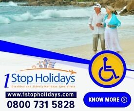 Holidays Abroad for Disabled Elderly and People with Special Needs