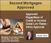 Private & Second Mortgage in Windsor - No Credit/Income Required