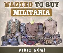 MILITARIA WANTED !!! City North Canberra Preview