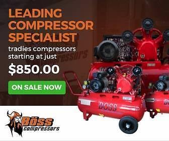 Air Compressor - 12 - 100 CFM (Electric/ Petrol/ Diesel)
