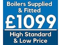 ***HIGH QUALITY & LOW COST***Boiler Installation Specialist!! FREE Extended Warranty / GAS SAFE *