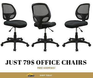 Office Chairs for Just 79$ with Free Shipping