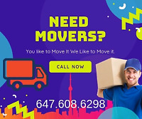 Toronto moving services $$CHEAP RATES  $$ 647 608 6298 INSURANCE