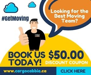 Looking for The Best Moving Team near me, Cargo Cabbie Has it!