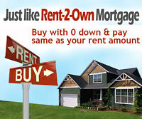DON'T PAY YOUR LANDLORD'S MORTGAGE BUY WITH NO MONEY DOWN!
