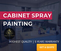 KITCHEN CABINETS SPRAY PAINTING | 5 YEARS WARRANT | PROMO