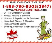 Bed Bugs, Cockroach, Fleas, Ants, Mice, Bees CALL 1-888-780-2847