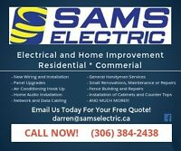 Sams Electric Expiereneced Family Owed Local Electricians