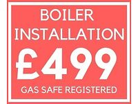High Standard Boiler Installation / GAS SAFE REGISTERED / WORCESTER/VAILLANT/MAIN/IDEAL/POTTERTON