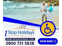 Holidays for Elderly Disabled and People with Special needs