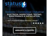 Any electrical work taken on, big or small. Free quotations available!