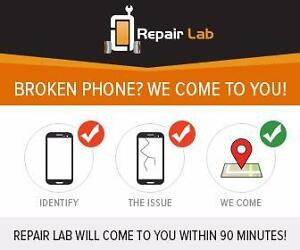 Broken phone? We come to you, within 90 minutes to fix it!