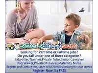 Babysitters Needed - Throughout London - Part-Time and Full-Time Hours Available
