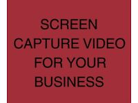I WILL CREATE SCREEN CAPTURE VIDEO FOR YOUR BUSINESS (£250 per hour)