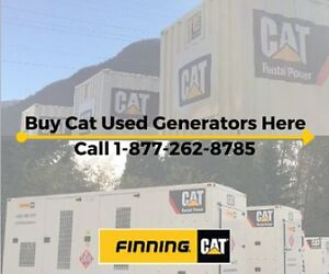 Used/Reduced CAT Genset Flash Sale! Free Shipping Offer
