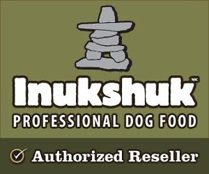 Inukshuk locally made dog food. Home delivery available!