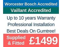 New Boiler Supply & Install Deals / Boiler Installation Repair&Service Specialist/GasSafe registered