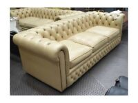 Chesterfield 3 seater and 2 seater sofa free delivery