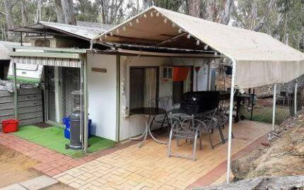 Onsite Caravan and Annexe at Maidens Inn Caravan Park Moama NSW