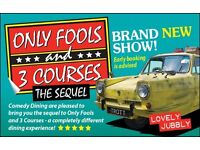 Only Fools and 3 Courses The Sequel Interactive Dinner Show Tunbridge Wells