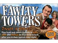 Fawlty Towers Interactive Dinner Show Blackpool