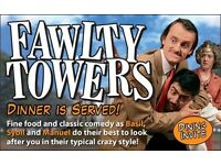 Fawlty Towers Interactive Dinner Show Redhill Surrey